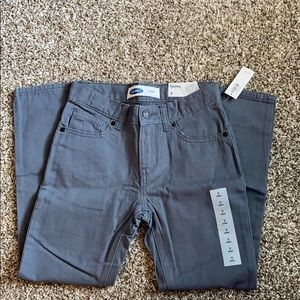 Gray NWT OLD Navy Skinny Jeans Sz 7